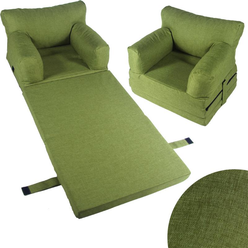 kindersessel sessel kinder couch klappmatratze sofa kindersofa kinderm bel ebay. Black Bedroom Furniture Sets. Home Design Ideas