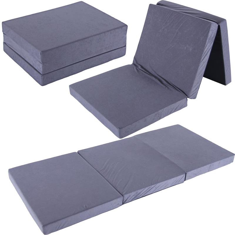 klappmatratze 195x80x10 cm tragetasche liegebett g stebett faltmatratze matratze ebay. Black Bedroom Furniture Sets. Home Design Ideas