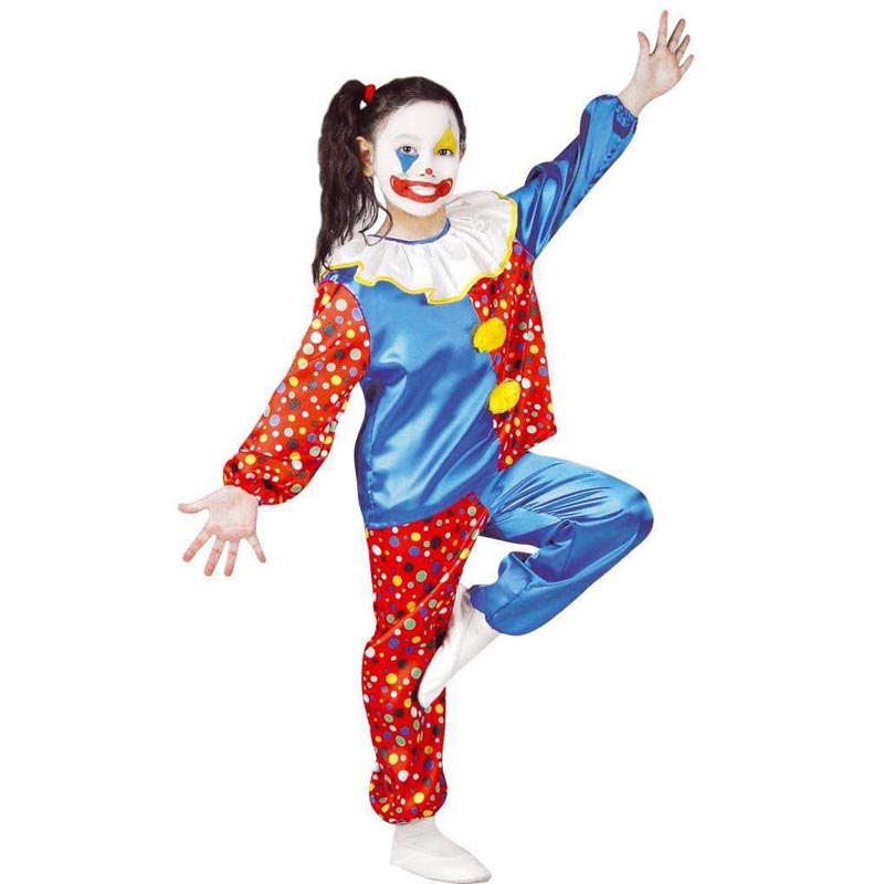 Kostüm clown pünktchen gr fasching karneval