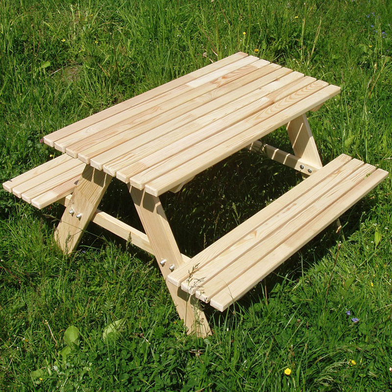 kindersitzgruppe 4 sitzer kinder sitzgarnitur kindertisch holz bank garten tisch ebay. Black Bedroom Furniture Sets. Home Design Ideas