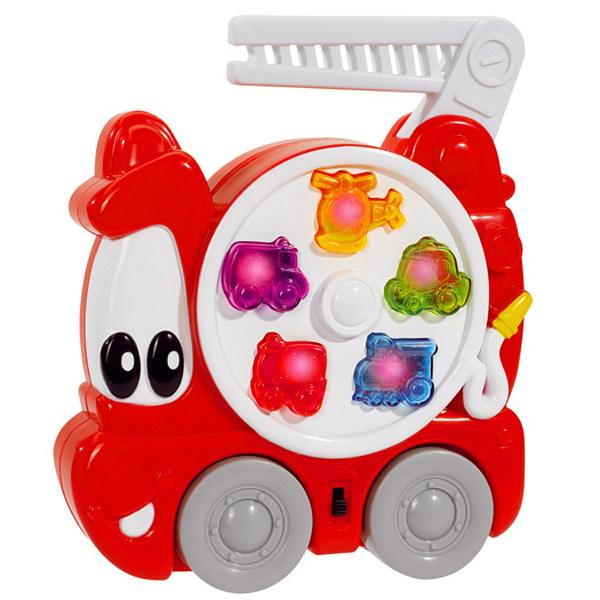 abc feuerwehrauto mit sound und licht 18cm simba ger usche auto babyspielzeug ebay. Black Bedroom Furniture Sets. Home Design Ideas