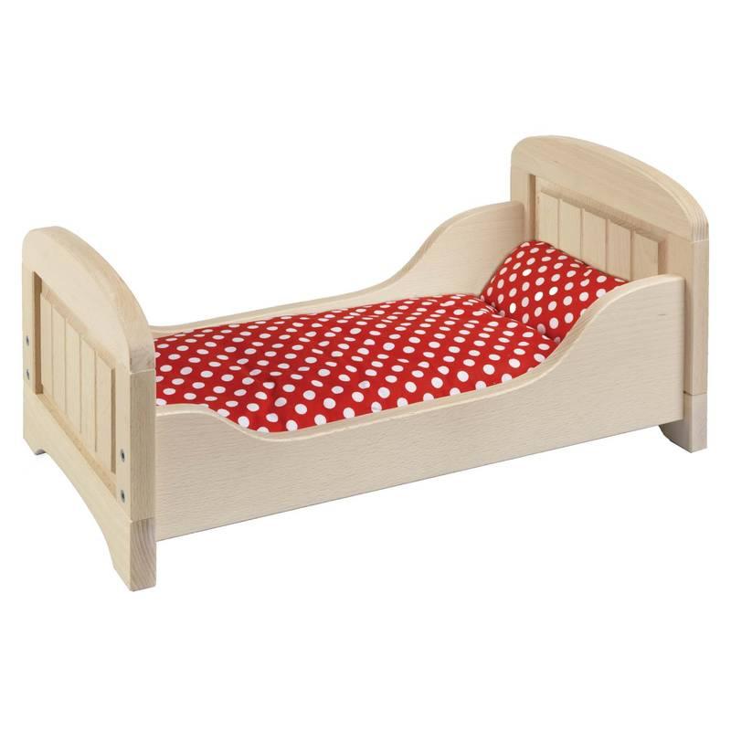 cama casa de muecas goki camas de madera nios juegos juguetes set