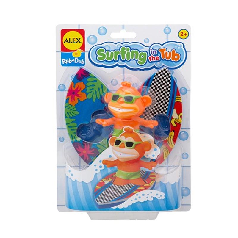Baño Infantil La Pala:Surf en la Bañera 3- piezas Juguetes de baño para el