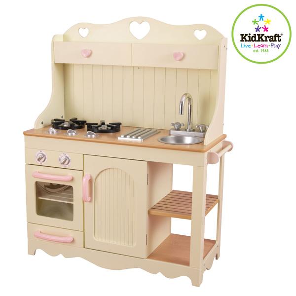 KidKraft Holz Spielküche Prärie 77x95 Holzküche Kochspielzeug ...