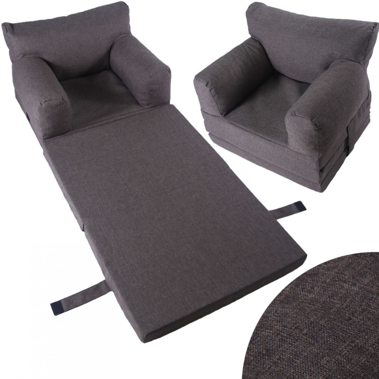 kindersessel klappmatratze kinderm bel sessel kinder couch kindersofa sofa ebay. Black Bedroom Furniture Sets. Home Design Ideas