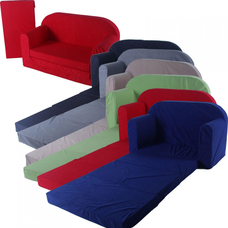 schlafsofa 100x172cm faltmatratze klappmatratze g stebett bettsessel sofa kinder ebay. Black Bedroom Furniture Sets. Home Design Ideas