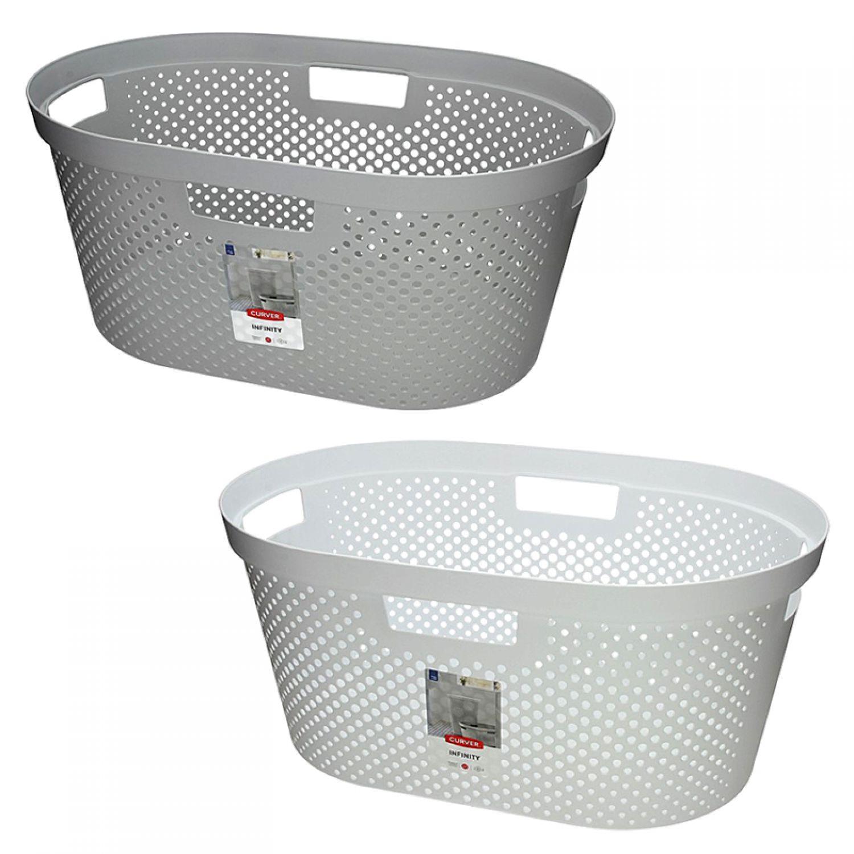 panier linge collection blanchisserie bassine kleiderkorb ebay. Black Bedroom Furniture Sets. Home Design Ideas