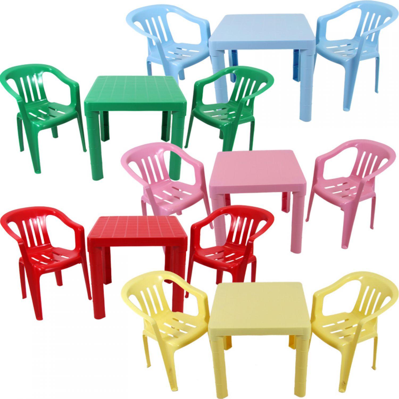 Bambini arredamento tavolo con 2 sedie per mobili ebay - Tavolo e sedia per bambini ...