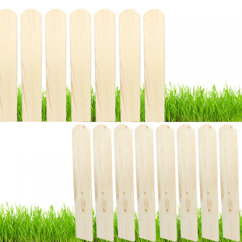 Holz Fichte Zaunlatten 50 150cm Holzzaun Balkonbrett Zaun