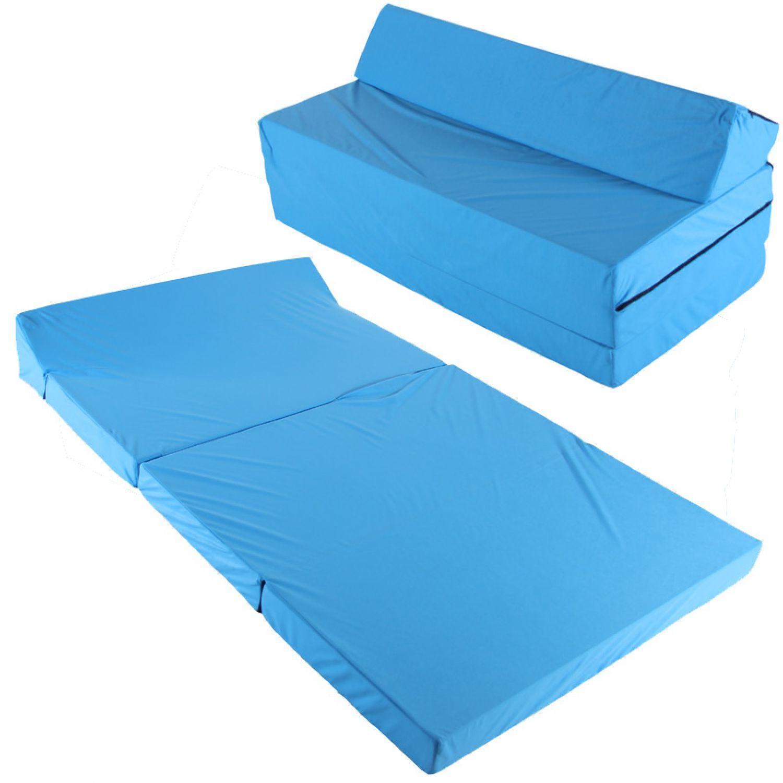 Fauteuil lit matelas pliable lit d 39 invit s fauteuil lit for Petit divan lit