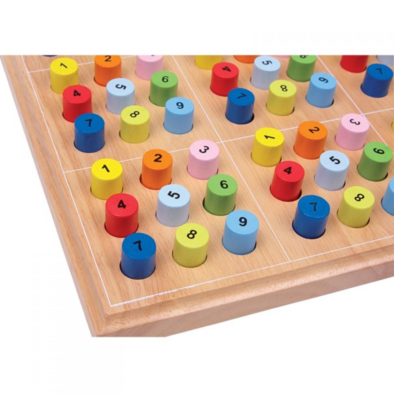 Sudoku bunt brettspiel strategiespiel lernspiel