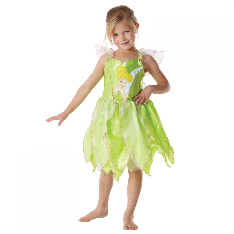 Kostüm Disney Tinkerbell Gr.S - L Fasching Karneval Kinder Kostüm ...