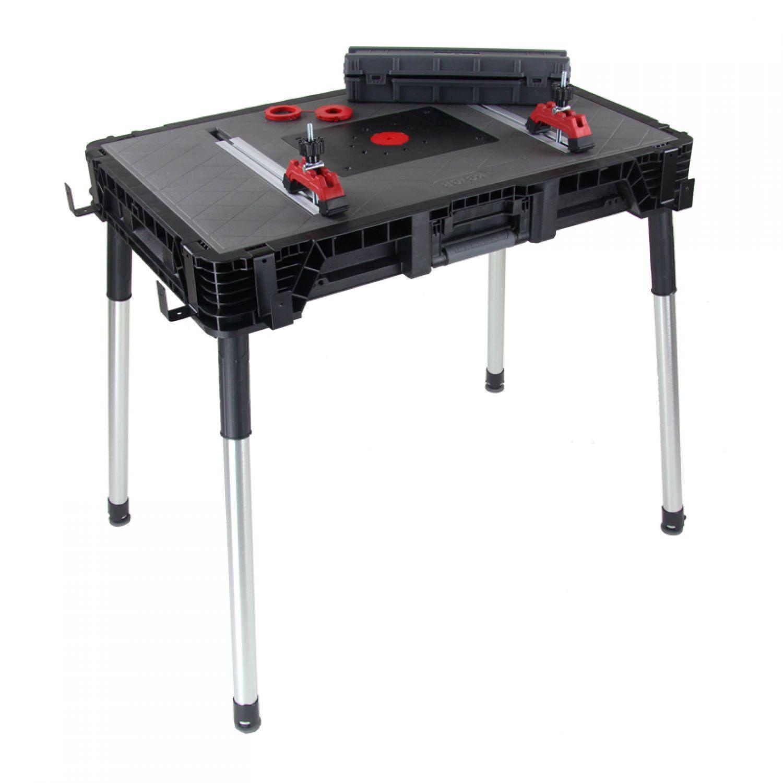 Keter Jobmade Folding Workbench 88x55x81cm Bank Work Table