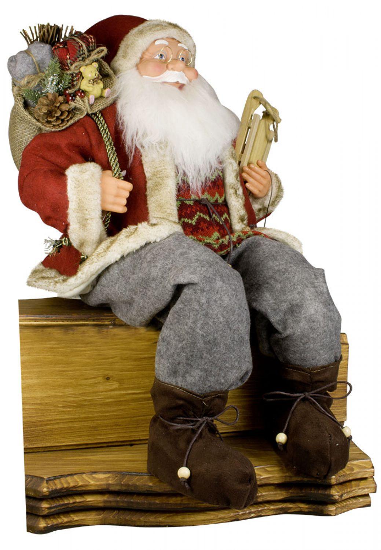 Weihnachtsmann gartendeko fensterdeko nicolaus for Dekorationsartikel wohnung
