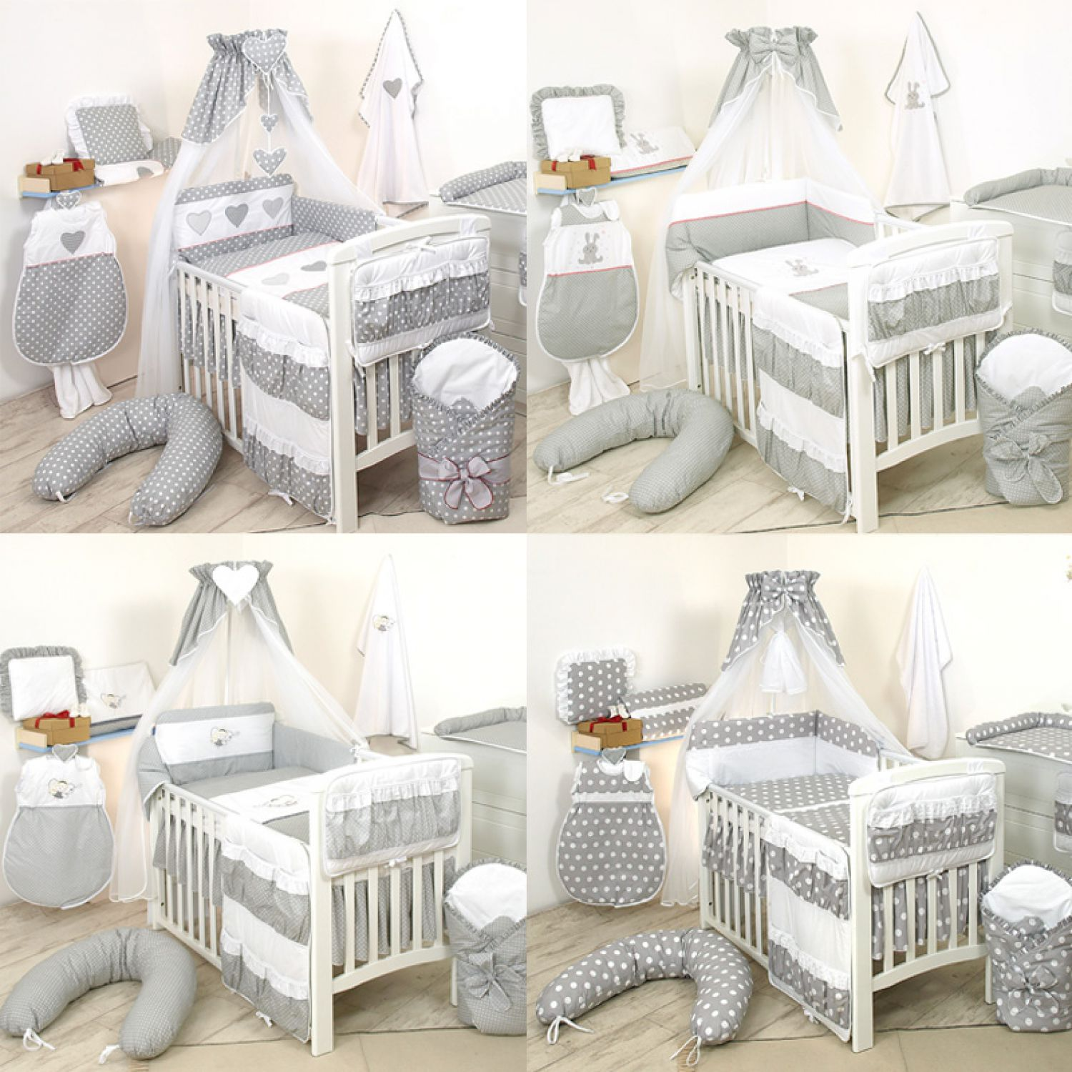 10tlg babybettw sche 135x100cm kinderbettw sche bettw sche himmel nestchen set ebay. Black Bedroom Furniture Sets. Home Design Ideas