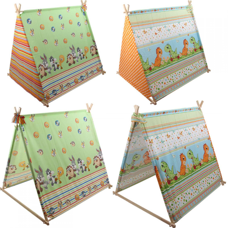 Legno tenda bambini 150x120 gioco giocattolo casetta for Case giocattolo da giardino