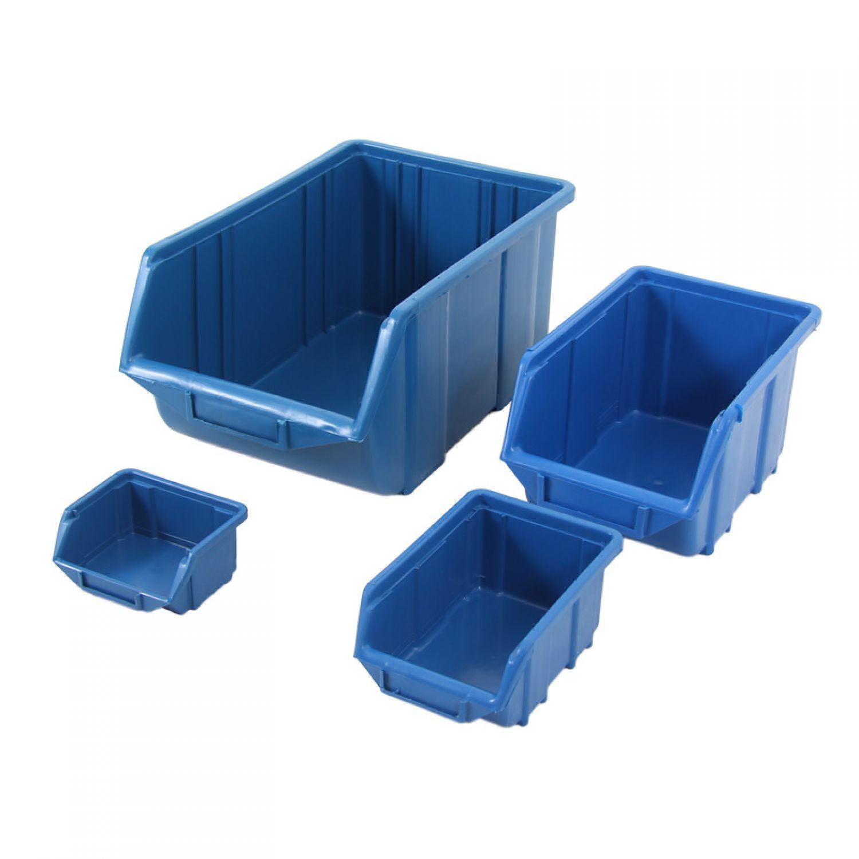 blue open storage box stackable storage box stackable. Black Bedroom Furniture Sets. Home Design Ideas
