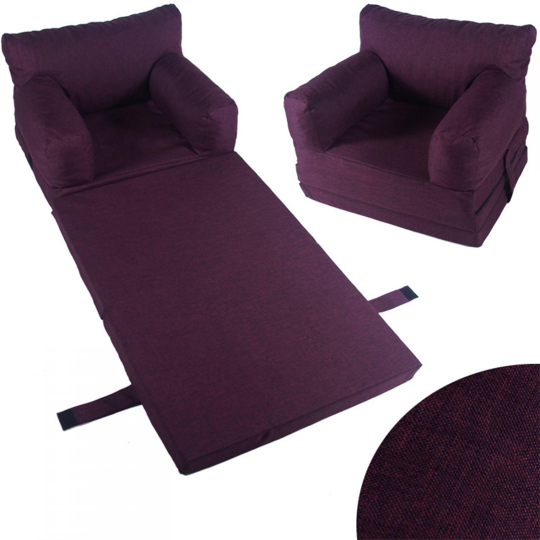 si ge enfants fauteuil canap matelas pliable meubles pour ebay. Black Bedroom Furniture Sets. Home Design Ideas