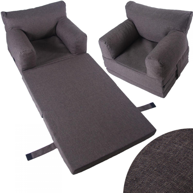 kindersessel sessel kinder couch klappmatratze sofa