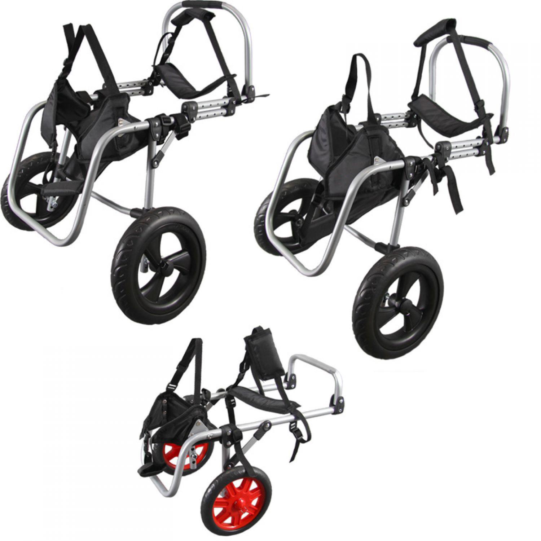 3 misure sedia a rotelle cane walker deambulatore per cani