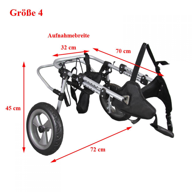 4 formati sedia a rotelle cane walker deambulatore per for Sedia a rotelle per gatti