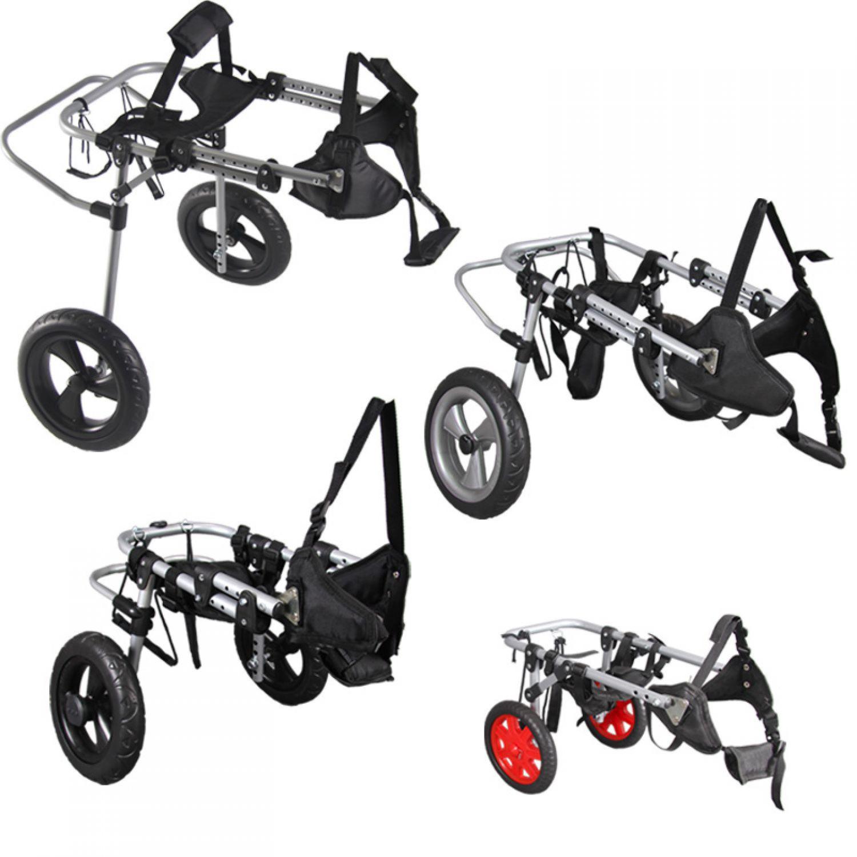 4 formati sedia a rotelle cane walker deambulatore per
