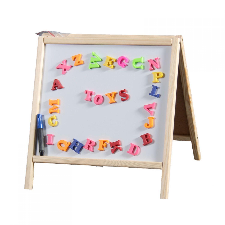 magnettafel tischtafel holz tafel maltafel kindertafel standtafel schultafel ebay. Black Bedroom Furniture Sets. Home Design Ideas