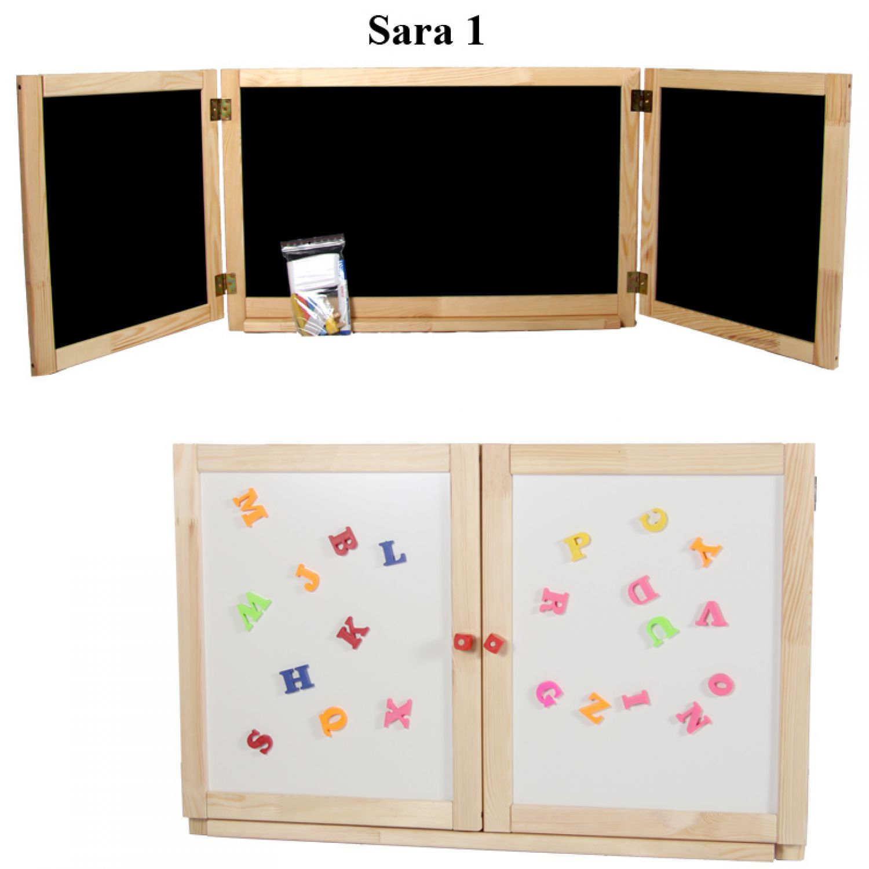 wand kindertafel schultafel magnet kreidetafel maltafel holztafel klapptafel ebay. Black Bedroom Furniture Sets. Home Design Ideas