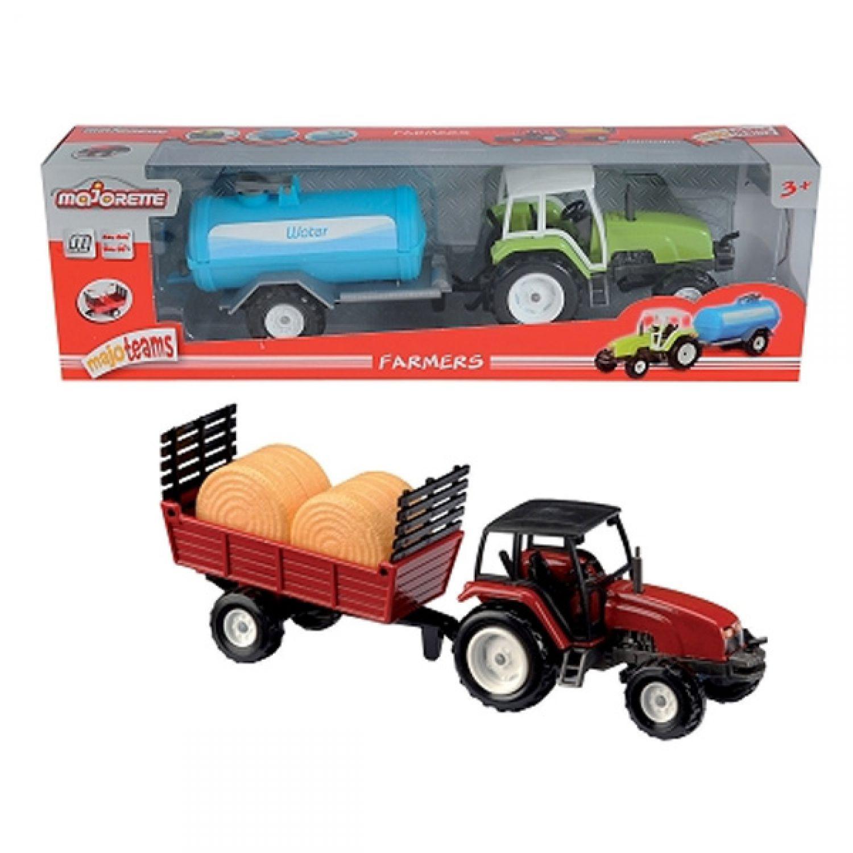 Majorette farmer traktor mit anhänger cm landmaschine