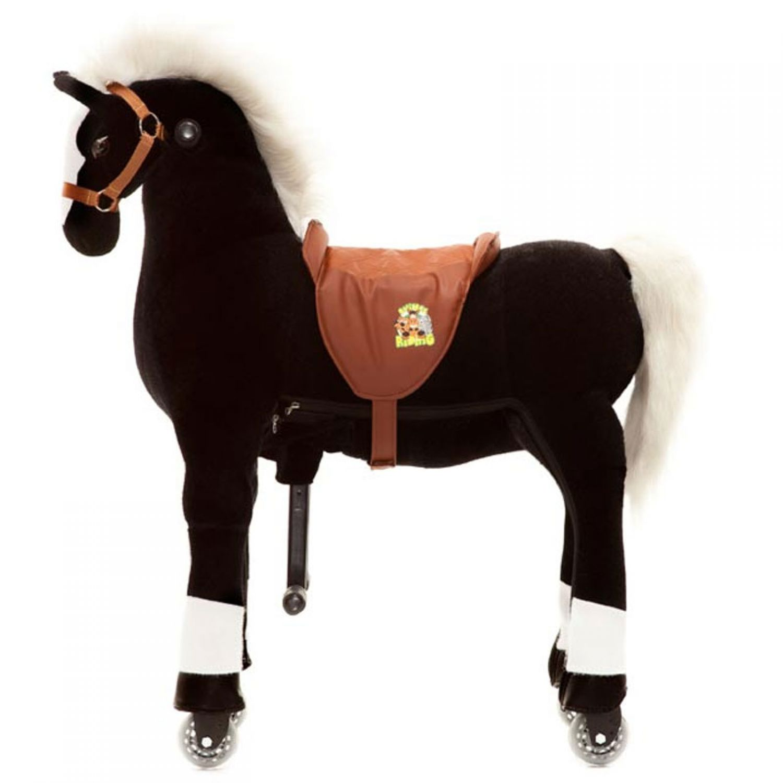 animal riding reittier pferd maharadscha schaukelpferd schaukeltier spielzeug ebay. Black Bedroom Furniture Sets. Home Design Ideas