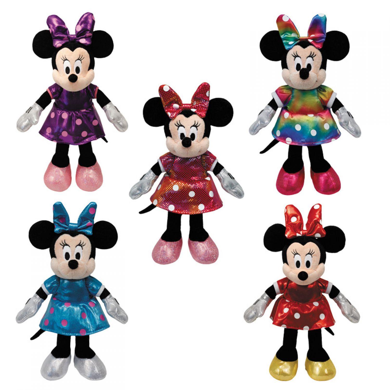 ty disney minnie mouse glitter 20 cm maus mit sound glitzer pl sch pl schtier ebay. Black Bedroom Furniture Sets. Home Design Ideas