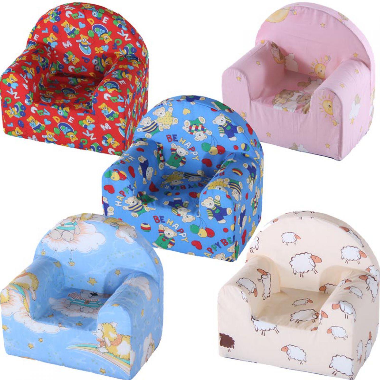 kindersessel 7 farbdesign 45x29x43cm sessel kinder kinderzimmer softsessel m bel ebay. Black Bedroom Furniture Sets. Home Design Ideas