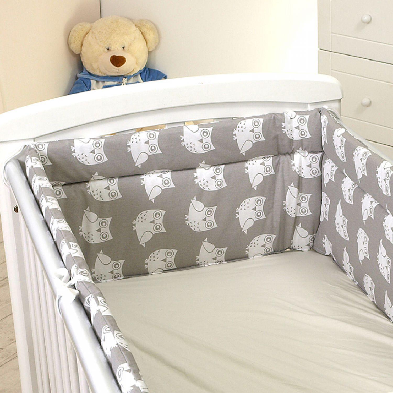 nestchen mit kopfschutz f r 140x70 bett 420x30cm m26 babybett bett kantenschutz ebay. Black Bedroom Furniture Sets. Home Design Ideas
