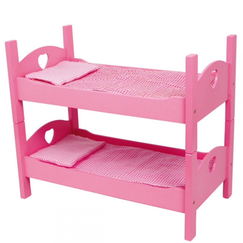 51cm 2x solo litera cama de mu eca muebles para mu ecas - Ropa de cama para literas ...