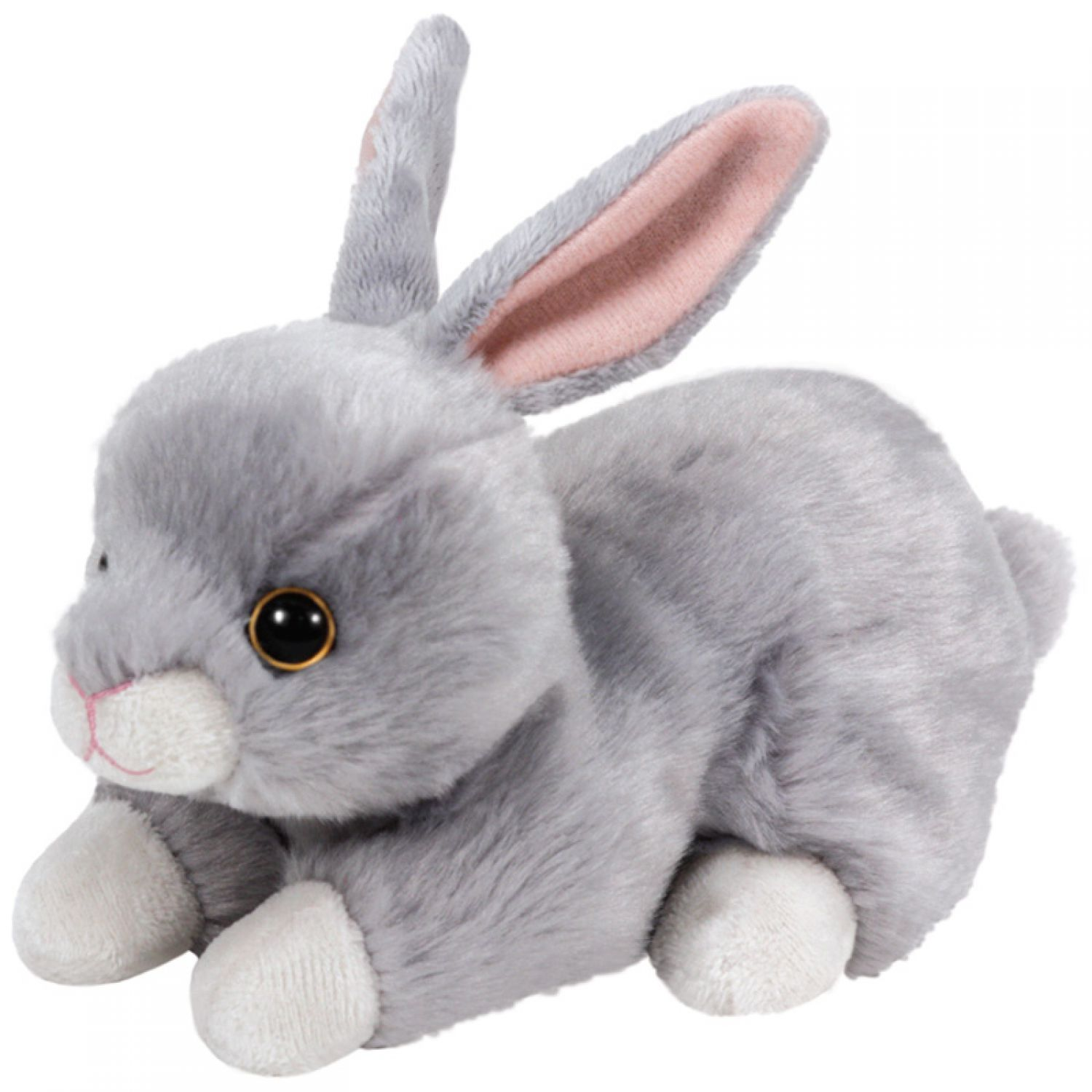 ty b b s beanie grignoteuse lapin en peluche gris 15cm peluche lapin en peluche ebay. Black Bedroom Furniture Sets. Home Design Ideas