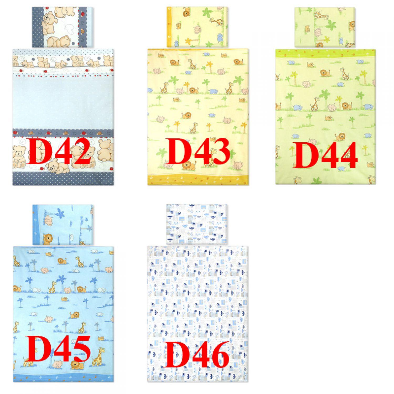 2tlg bettgarnitur135x100cm set baumwolle babybettw sche. Black Bedroom Furniture Sets. Home Design Ideas