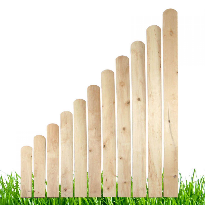 Holz Erle Zaunlatten 50 150cm Holzzaun Balkonbrett Zaun Gartenzaun