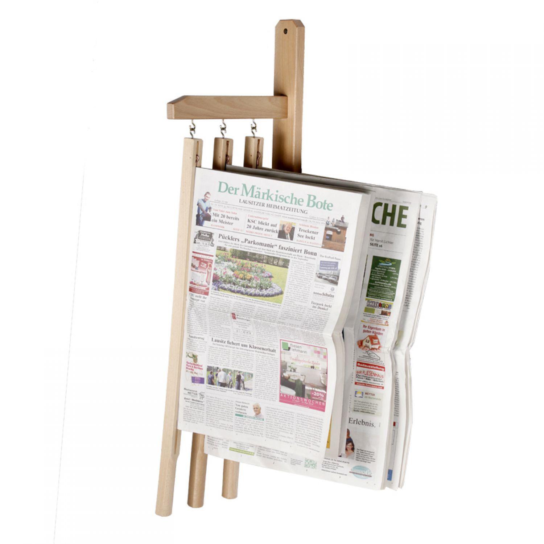 3er zeitungshalter zeitungsstock zeitung zeitungsorganizer speisekarte halter ebay. Black Bedroom Furniture Sets. Home Design Ideas