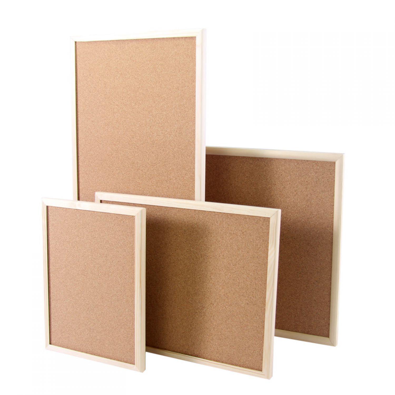 Tabl n de corcho con marco pizarra pared notas anuncios - Panel de corcho para pared ...