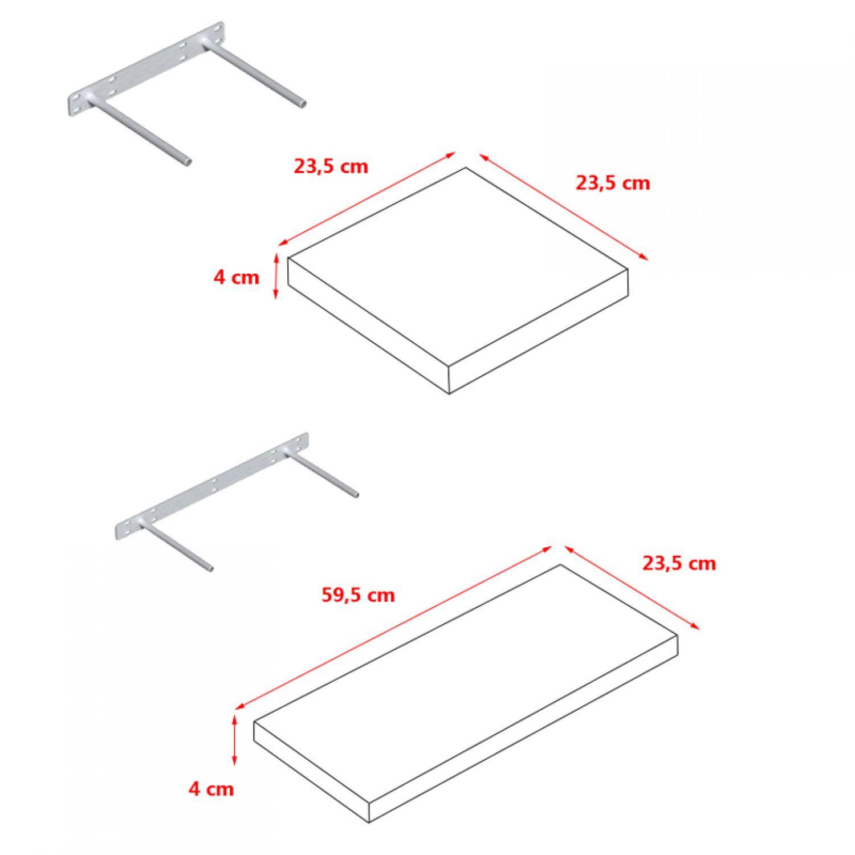 wandregal regal wandboard b cherregal h ngeregal frei. Black Bedroom Furniture Sets. Home Design Ideas