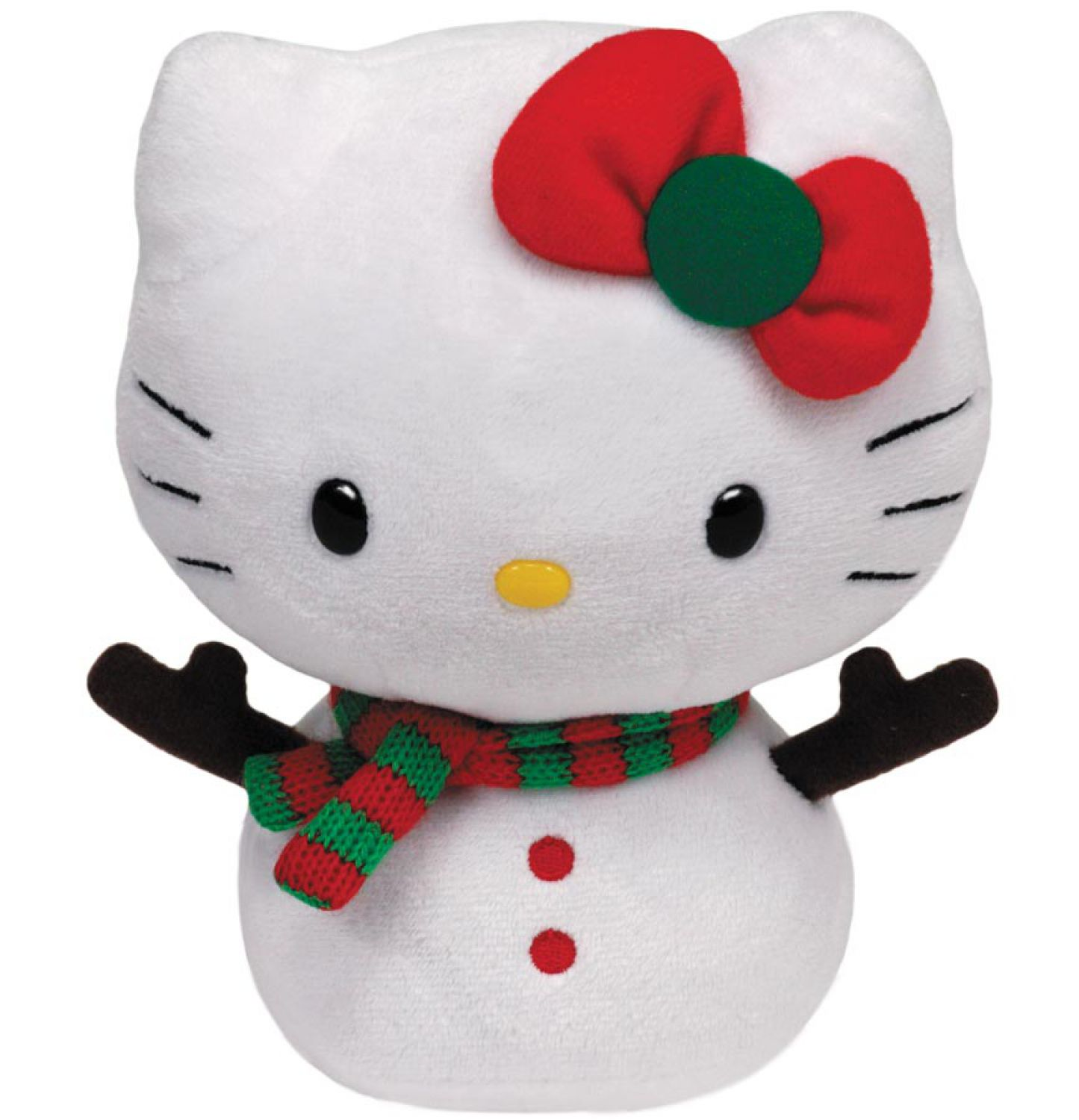 Hello Kitty Stuff Toys : Ty hello kitty baby snowman cm plush stuffed animal ebay