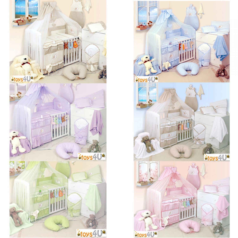 8tlg babybettw sche 135x100cm baby nestchen. Black Bedroom Furniture Sets. Home Design Ideas