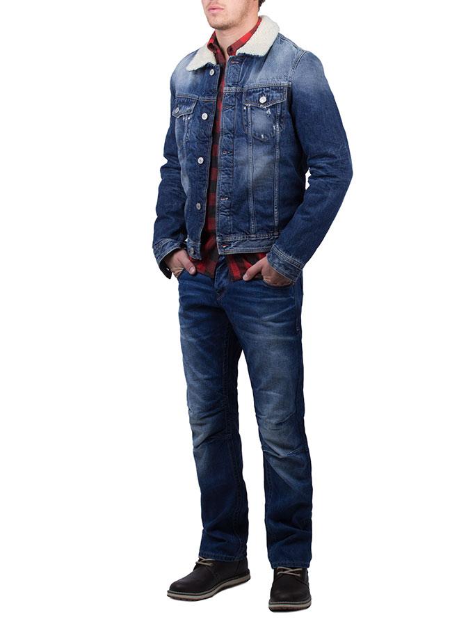 jack jones vintage jean jacket herren jacke jeansjacke. Black Bedroom Furniture Sets. Home Design Ideas