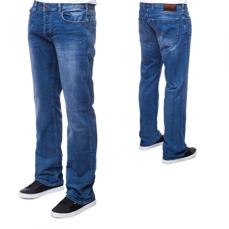 ltb herren jeans straight cut freizeitjeans mid rise denim hose blau ebay. Black Bedroom Furniture Sets. Home Design Ideas