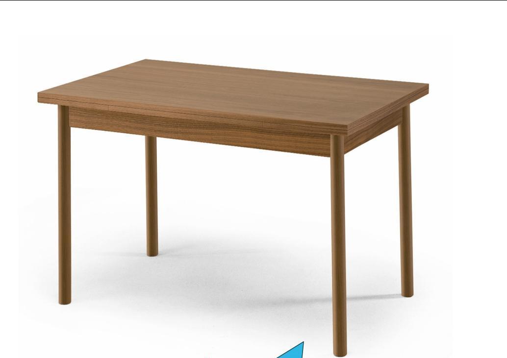 1519 g nstiger esstisch k chentisch zum ausziehen 120 180 x 80cm buche ebay. Black Bedroom Furniture Sets. Home Design Ideas
