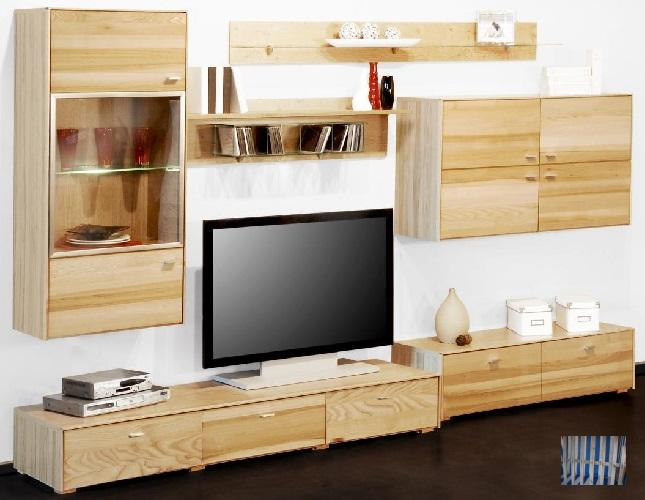 1101 made in brd wohnwand kernesche tv wohnwand. Black Bedroom Furniture Sets. Home Design Ideas