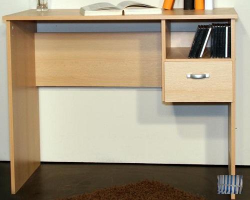 2199 made ein brd sch lerschreibtisch pc tisch buche dekor schreibtisch ebay. Black Bedroom Furniture Sets. Home Design Ideas