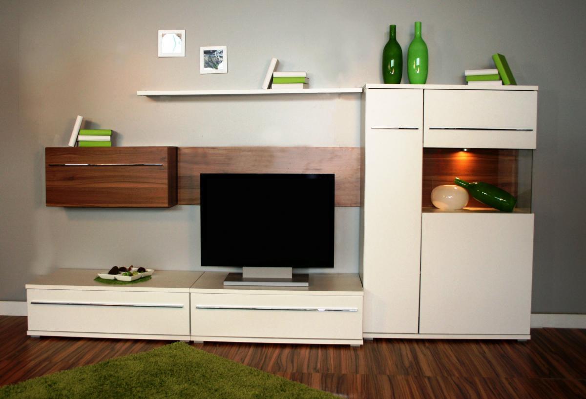 327 tv wand wohnwand anbauwand made in brd ebay. Black Bedroom Furniture Sets. Home Design Ideas