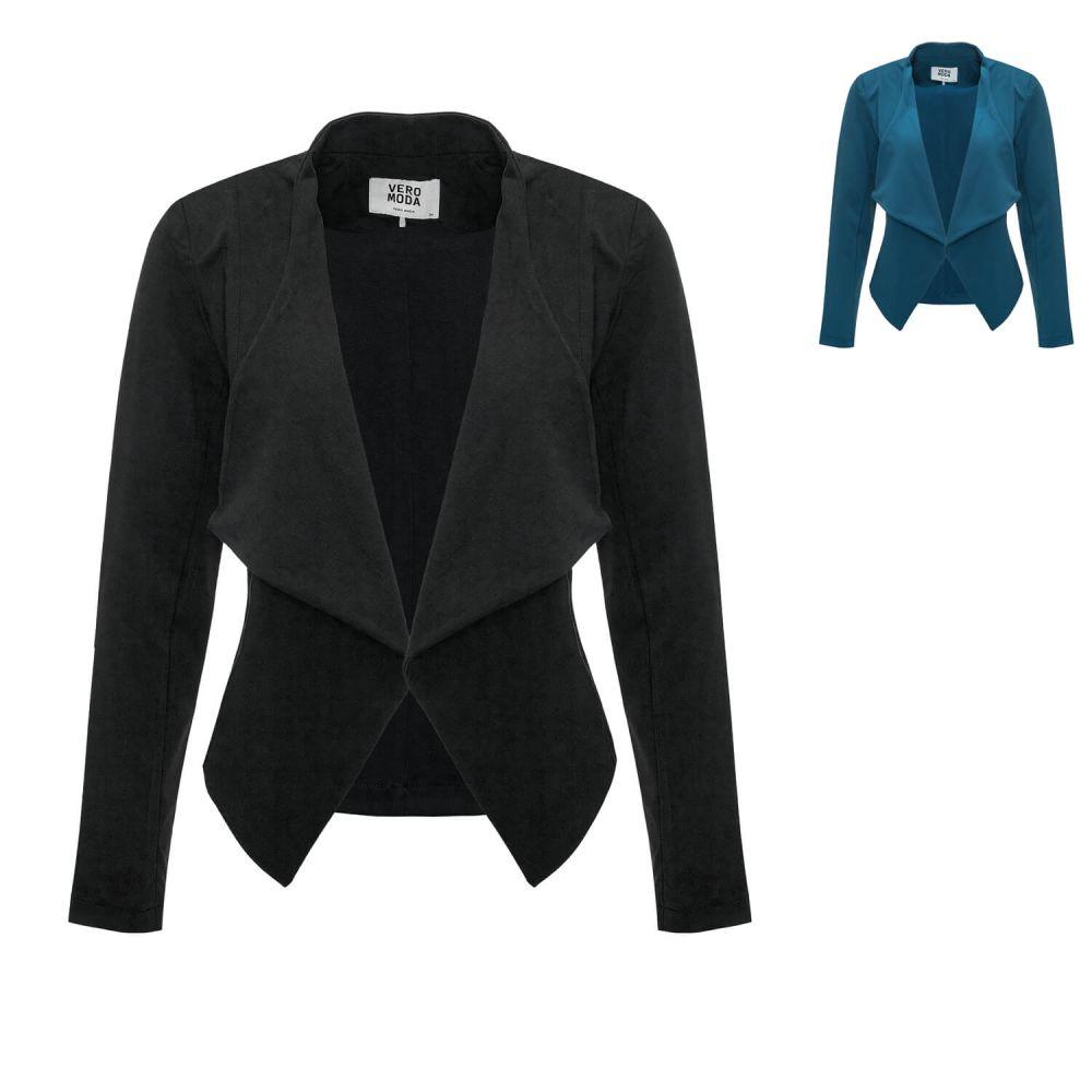 vero moda damen blazer business sakko business anzug freizeitblazer sale ebay. Black Bedroom Furniture Sets. Home Design Ideas