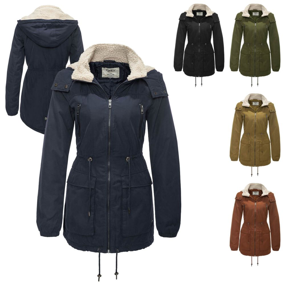 only damen winterjacke parka ebay modische sizon jacken 2018. Black Bedroom Furniture Sets. Home Design Ideas